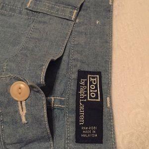 Polo by Ralph Lauren soft light blue jeans 35/30